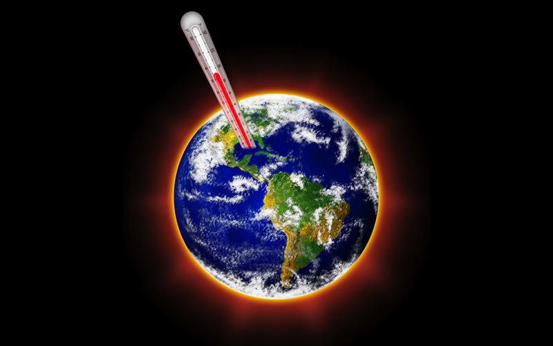 Nhiệt độ trung bình của Trái Đất đang tang nhanh qua các thế kỷ