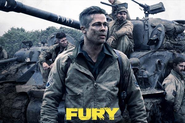 Nornam và những đồng đội trên chiếc xe tăng Fury