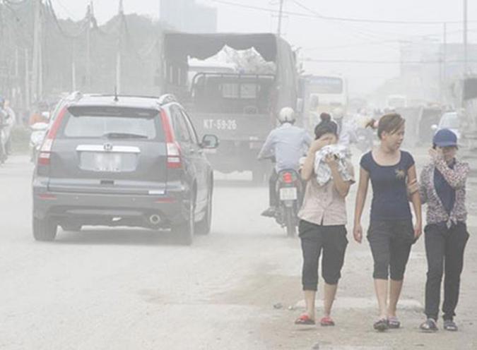 biện pháp khắc phục ô nhiễm môi trường không khí