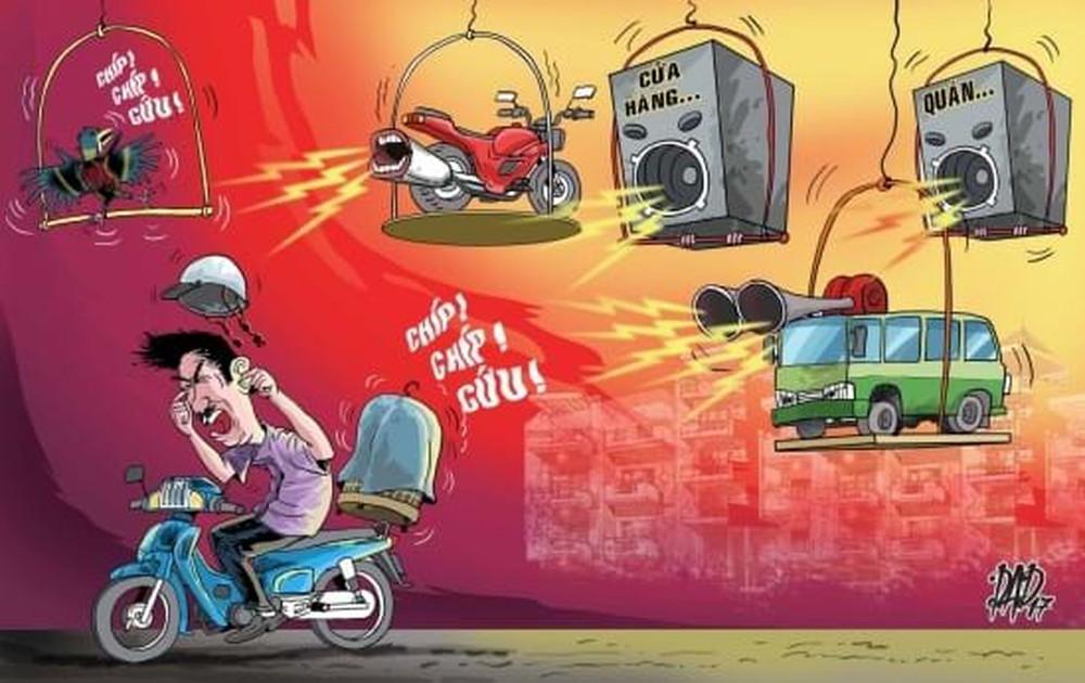hậu quả của ô nhiễm tiếng ồn