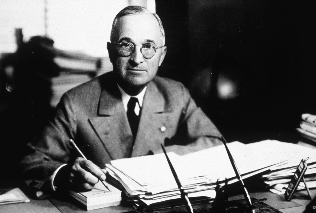 Tổng thống mỹ Truman