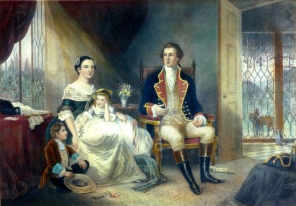 Tổng thống Mỹ đầu tiên George Washington